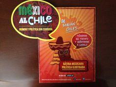 El display de promoción para México al chile