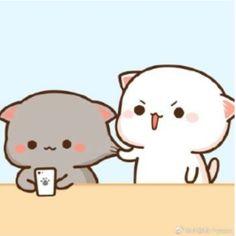 Cute Bear Drawings, Cute Animal Drawings Kawaii, Cute Little Drawings, Kawaii Drawings, Cute Cartoon Images, Cute Love Cartoons, Cute Cartoon Wallpapers, Cute Images, Cute Doodle Art