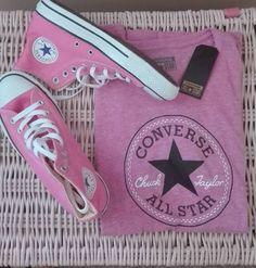 #converse#pink#boty#tricko#nejlepsi#znacka#naleto#super by editalukova
