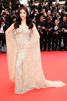 All The Looks From Cannes That Made Us Actually Want To Watch The Movies #refinery29  http://www.refinery29.com/2016/05/110633/cannes-film-festival-best-dressed-2016#slide-2  Aishwarya Rai BachchanIf you were wondering — at any point in your life — what glamorous, epic Bollywood actresses look like (and wear), look no further than this picture of Aishwarya Rai Bachchan in Ali Younes....