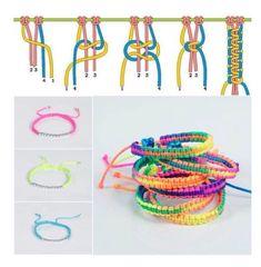 Wonderful Cost-Free Macrame bracelets jewellery Tips Kendin Yap Bileklik ve Takı Modelleri Diy Bracelets Easy, Bracelet Crafts, Braided Bracelets, Paracord Bracelets, Macrame Bracelets, Jewelry Crafts, Braclets Diy, Paracord Braids, Jewelry Necklaces