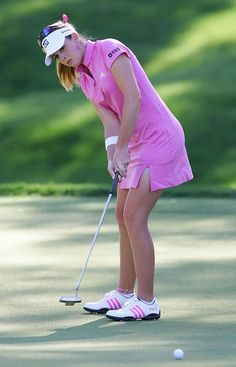 going to see her at this year's Jamie Farr Toledo Classic. Girls Golf, Ladies Golf, Paula Creamer, Lpga Golf, Sexy Golf, Golf Player, Golf Wear, Sports Models, Golf Outfit