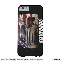 2015 Silverado 3500HD Double Cab LT Dually Barely There iPhone 6 Case