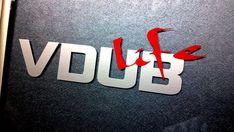 Vdub life VW decals sticker r32 gti golf jetta by signdesigners
