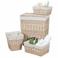 4-Piece Arcadia Hamper & Storage Basket Set on Joss and Main