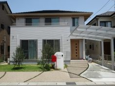 104 Japanese Modern, Japanese House, Minimalist Home, Interior And Exterior, Facade, Gate, Pergola, House Design, Flooring