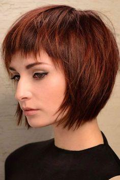Nouvelle Tendance Coiffures Pour Femme 2017 / 2018 Les cheveux roux sont intemporels et sexy. Il y a tant de nuances sexy pour choisir la forme