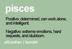 Pisces:  Positive and negative #Piscean traits.