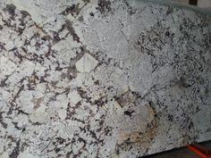 Delicatus granite, polished countertop slab.