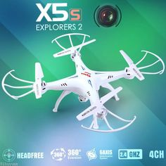 Syma X5SC-1 Falcon Drone HD Camera 4GB 4Ch 6Axis 2.4G RC Quadcopter Helicóptero - http://www.midronepro.com/producto/syma-x5sc-1-falcon-drone-hd-camera-4gb-4ch-6axis-2-4g-rc-quadcopter-helicoptero/