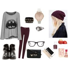 teen polyvore | fashion look from January 2014 featuring LAUREN MOSHI sweaters, Rag ...