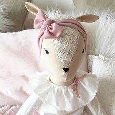 Free shipping on Mille the baby fawn give this sweetie a new forever home this Christmas ! Most doll cloths will fit this large doll. Use MAGIC for her worldwide free shipping !