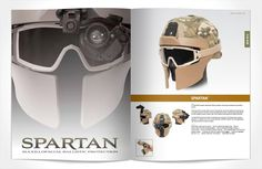 The Spartan design offers Maxillofacial Ballistic Protection without any modification to an issue Advanced Combat Helmet that can provide ballistic, blast and blunt impact protection in the maxillofacial region to increase soldier survivability. Tactical Survival, Survival Gear, Tactical Gear, Survival Prepping, Airsoft Helmet, Airsoft Guns, Camouflage, Combat Helmet, Police Gear