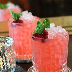 Cranberry Ginger Fizz Cocktail Recipes