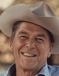 Ronald Reagan.. Heck yeah.. I o v e Ronald Reagan .. That's what this country needs.. Another Reagan