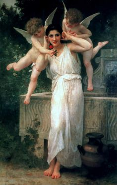 *William Adolphe Bouguereau (French)- Jeunesse/Youth, 1893* (William Bouguereau): Jeunesse