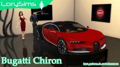 Bugatti Chiron at LorySims • Sims 4 Updates