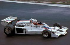 Alan Jones, winner of Shadows only Grand Prix victory in Austria 1977.