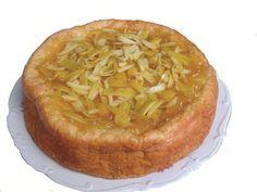 torta de Naranja y Piña dietetica sin azucar