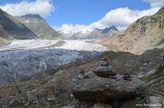 Gletscherfluss  #Glacier #Gletscher #Alpen #Berge #Aletschgletscher #Schweiz #swiss #wandern #natur #backpacker