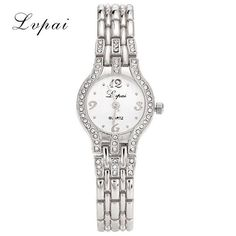 Lvpai Brand Cheap Stainless Steel Watch Rose Gold Bracelet Watch Fashion Luxury Women Dress Watch Gift Quartz Watch