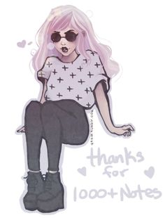 Hi everyone!! Oh my gosh thank you so much for 1000+ notes on this post!! eee ima cry. Seriously though, apart from the reposting, editing, and art thief, this has been so awesome and so many new followers c: I dunno what to do with myself