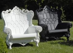 What a cool idea for an outdoor chair, maybe for a NYC apartment??