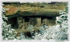 Winter time in Mesa Verde....Mancos, Colorado