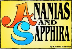 "Christian Book: Read ""Ananias and Sapphira"" by Richard Gunther online ( page 1) 
