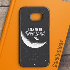 Peter Pan Take To Me Neverland Samsung Galaxy S6 Edge Plus Case | casefantasy