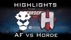 Ad Finem vs Horde Starladder i-League 2017 EU Highlights Dota 2