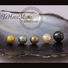 Carving pearls is Te Hotu Mana Creations' way of perpetuating culture in a new and different way. They try to keep their designs as traditional as possible and enjoy sharing the story behind each pearl.
