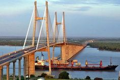 Rosario-Victoria Bridge - Argentina.