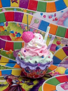 CANDY LAND FAKE CUPCAKE PHOTO PROPS BIRTHDAY PARTY DECORATIONS DISPLAYS ORNAMENT | Home & Garden, Food & Beverages, Fake Food | eBay!