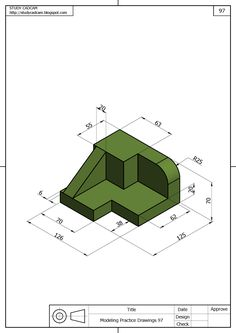 Isometric Drawing Exercises, Autocad Isometric Drawing, 3d Sketch, Sketch Design, Solidworks Tutorial, Interesting Drawings, Drawing School, 3d Cad Models, Weapon Concept Art