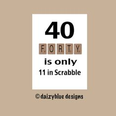 Funny Humorous 40th Birthday Greeting Card Milestone