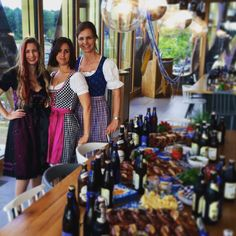 These ladies prepared a lovely Oktoberfest feast for their team. It looks so tasty!!#39jfk #kpmglife #funtimes #oktoberfest