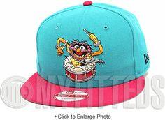 Animal The Muppets Filament Hot Pink South Beach Lebron 8 & 9 Matching New Era Snapback