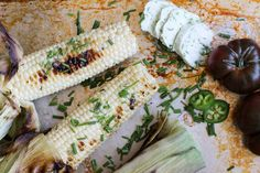 grilled corn with vegan compound butter // apolloandluna.com