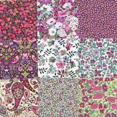 Liberty Fabric Tana Lawn Katherine's Patchwork - NEW! - Alice Caroline - Liberty fabric, patterns, kits and more - Liberty of London fabric online