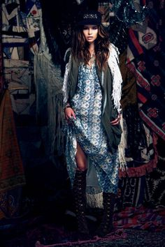 more Gypsy inspiration from Free People's Sept lookbook