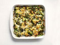 Broccoli-Pecorino Gratin recipe from Food Network Kitchen via Food Network