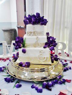 Top Tier Wedding Cakes Orlando Custom