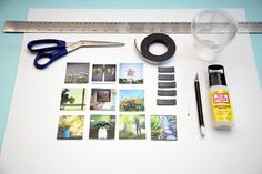 photo magnet mosaics