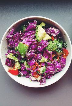 10-Minute Meal: Cabbage + Hemp Salad - mindbodygreen.com