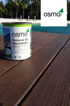 Natural Oil Woodstain. A decorative, oil-based protective finish for all exterior use. The perfect  environmentally friendly wood finish for all of your garden furniture and projects.  Colour: 708 Teak