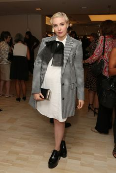 Best Actress in a TV Series Musical or Comedy: Lena Dunham, Girls // 72nd annual Golden Globes Awards