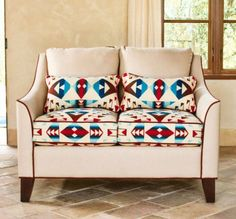 ikat couch i need to make pillows and recover my couch cushions