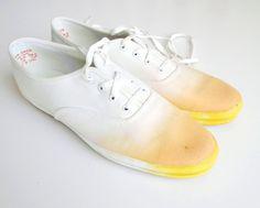 DIY ombre shoes!