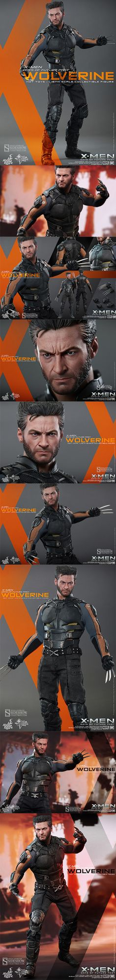 New Hot Toys Wolverine Figure Might Actually Be A Living, Miniature Hugh Jackman Sideshow Collectibles & Hot Toys have revealed the new X-Men: Days of Future Past Wolverine Sixth Scale Collectible Figure. 30 points of articulation & a new head sculpt gets Jackman's facial hair and fierce expression just right. http://nerdapproved.com/approved-products/the-new-hot-toys-wolverine-figure-might-actually-be-a-living-miniature-hugh-jackman/#gBuXCqwE1JclusY6.99